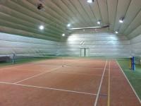 Zateplená tenisová hala